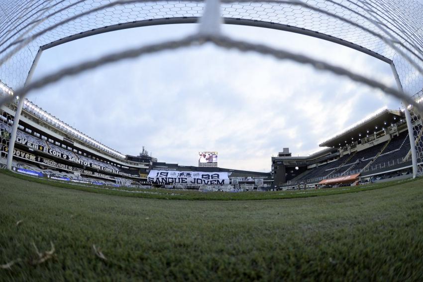 (FOTO) Así luce la cancha de Santos para recibir a Barcelona