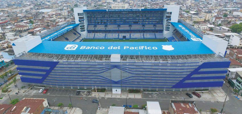 (VIDEO) Así luce el Estadio Emelec para el partido por Sudamericana en su aniversario 92