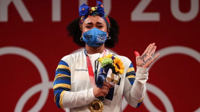 Neisi Dajomes se convierte en la primera mujer medallista olímpica de Ecuador