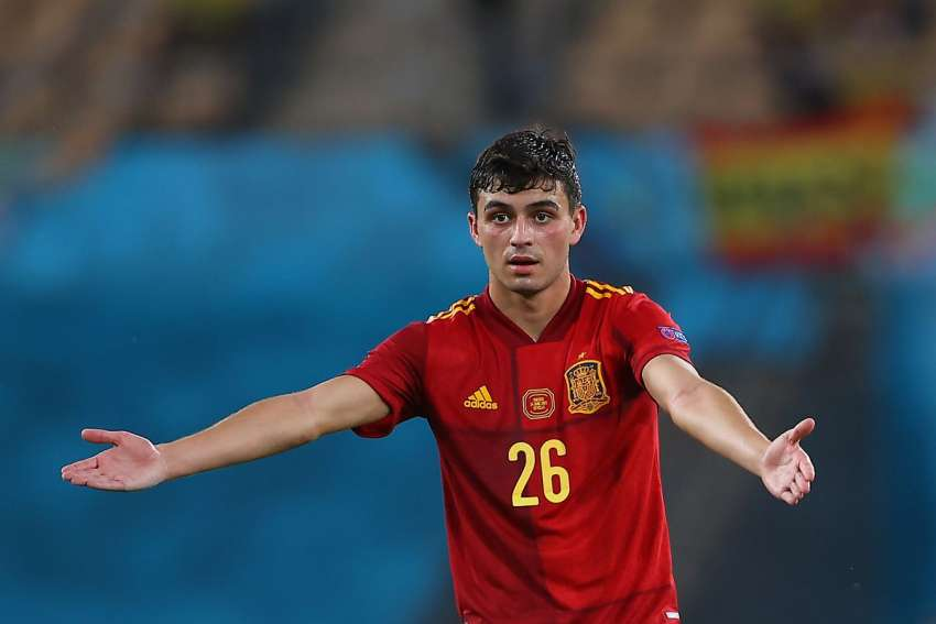 'Pedri' elegido como Mejor Joven de la Eurocopa 2020
