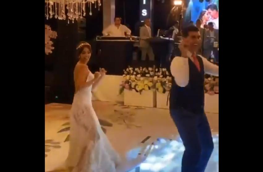 (VIDEO) El baile de Ismael Rescalvo con su esposa en el día de su boda