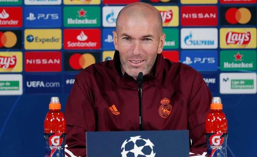 Zidane en rueda de prensa decide su futuro