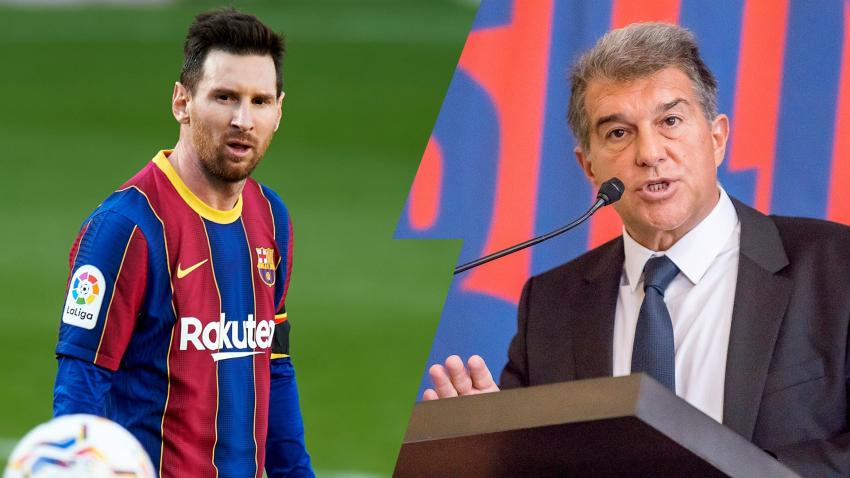 Joan Laporta revela: ''Tenía la esperanza que Messi decidiera jugar gratis en el Barça''