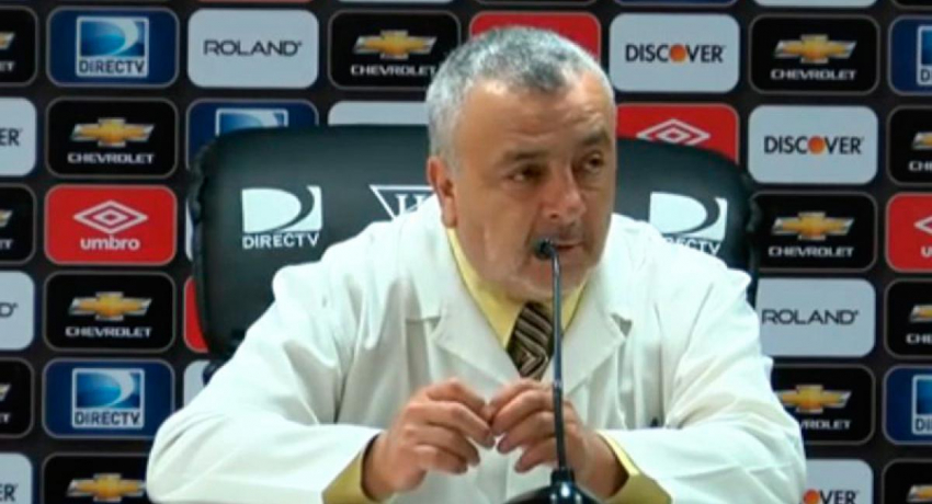(VIDEO) Doctor Juan Barriga analiza su salida de Liga de Quito