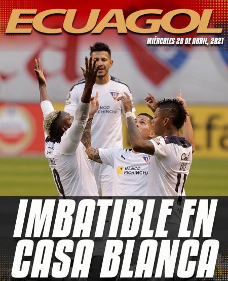 Liga de Quito venció a Vélez y se afianzó en puestos de clasificación