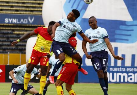 Universidad Católica rescató un empate ante Aucas en el Olímpico Atahualpa