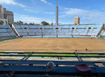 (FOTO) El estadio Centenario atraviesa un proceso de remodelación