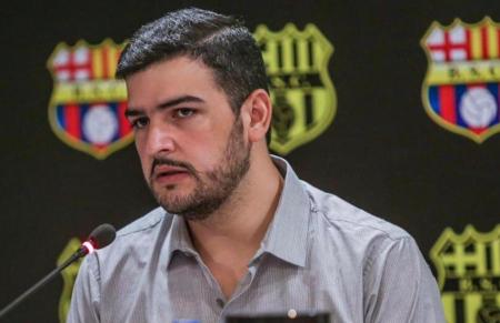 La reacción de Aquiles Álvarez tras el empate de Barcelona en el Maracaná