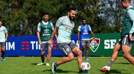 (FOTO) Fluminense entrena en el Capwell pensando en Barcelona