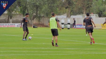 Liga de Quito tendrá variantes en su alineación para recibir a Atlético Paranaense