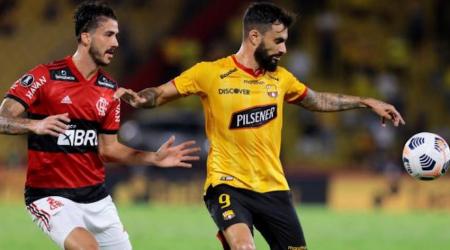 (IMPORTANTE) Gonzalo Mastriani es duda para el Barcelona vs Mushuc Runa
