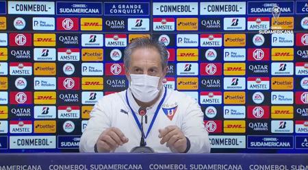 Pablo Marini: ''Estamos muy dolidos, venimos convencidos de la clasificación''