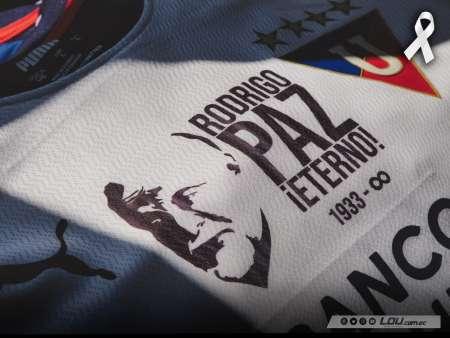 Copa Sudamericana: El homenaje de Liga de Quito para Rodrigo Paz