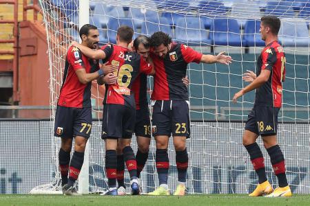 (VIDEO) Felipe Caicedo no estuvo en la derrota del Genoa