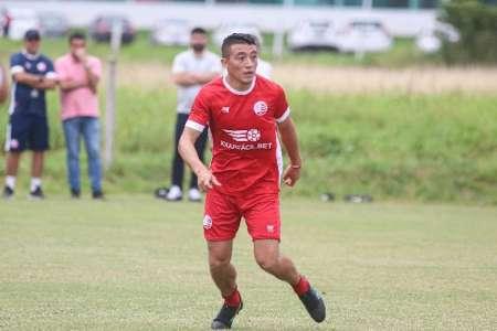 (FOTO) Jacob Murillo tuvo el primer entrenamiento en su nuevo club