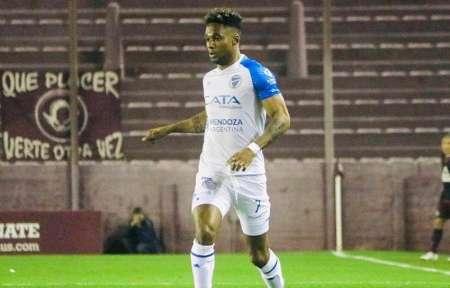 Jeison Chalá presente en el empate de Godoy Cruz