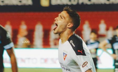 EXCLUSIVO || En Liga de Quito hablan del futuro de Luis Amarilla