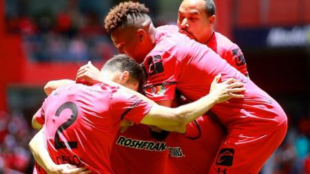 Toluca venció a Xolos en la LigaMX
