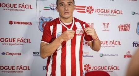 Jacob Murillo también pudo debutar con Clube Náutico