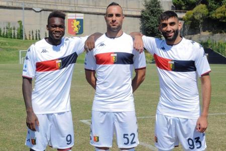 (FOTO) Felipe Caicedo debutó con el Genoa en un amistoso
