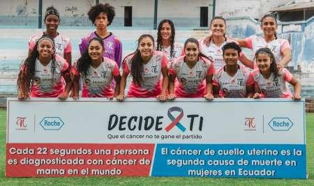 (VIDEO) Club Ñañas lanza campaña contra el cáncer de mama y cuello uterino