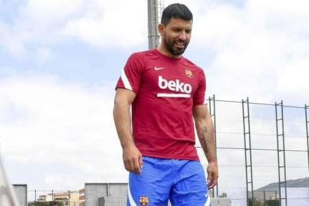 Kun Agüero baja por diez semanas en el FC Barcelona