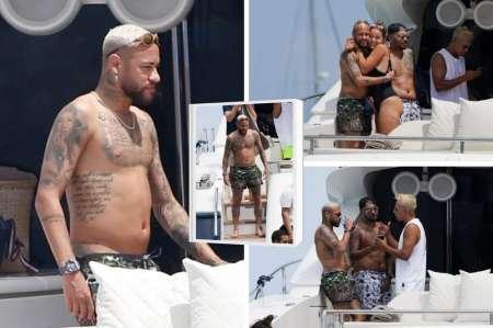 En PSG muestran preocupación por el cambio físico de Neymar