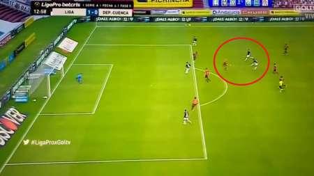 (VIDEO) Impresionante GOLAZO de José 'Choclo' Quintero con Liga de Quito