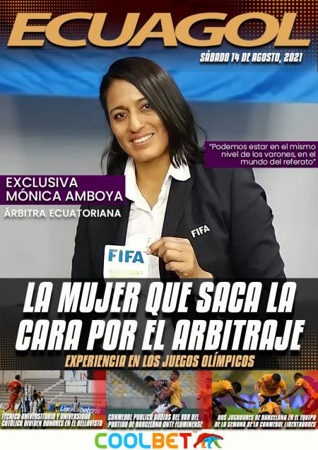 (VIDEO) EXCLUSIVA | Mónica Amboya, la  mujer que saca la cara por el arbitraje