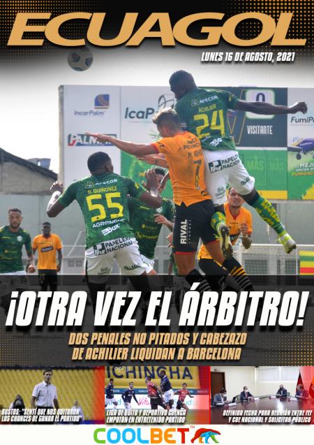 (VIDEO) Orense derrota a Barcelona con gol de Gabriel Achilier