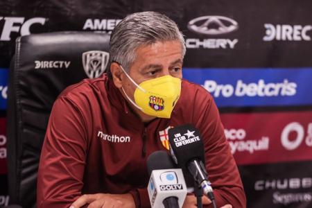 """Asistente técnico de Barcelona SC: """"Lamentablemente hay jugadas que quedan al aire"""""""