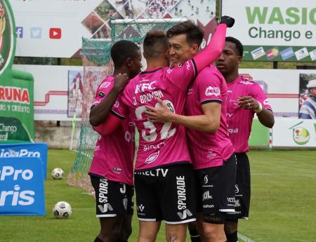 Doblete de Bauman para la victoria de Independiente ante Mushuc Runa