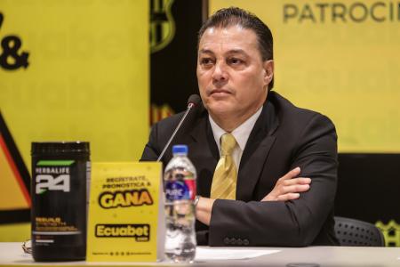 Alfaro Moreno se refirió al entrenador de Independiente del Valle