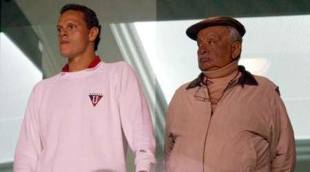 (FOTO) Esteban Paz y su dedicatoria tras la victoria de Liga de Quito