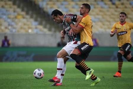 (FOTO) Fred advierte a Barcelona para la revancha en Libertadores