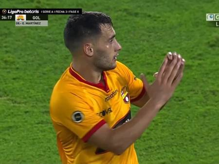 (VIDEO) De cabeza, Emmanuel Martínez puso en ventaja a Barcelona ante Guayaquil City