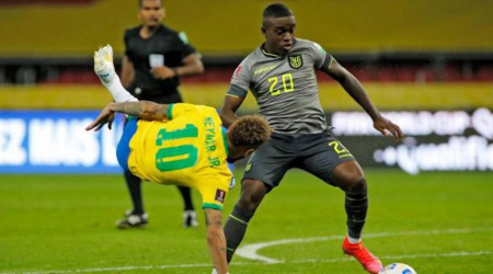 Jhegson Méndez no tendría minutos con Ecuador