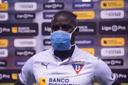 (FOTO) Liga de Quito revela el tiempo de recuperación de Moisés Corozo