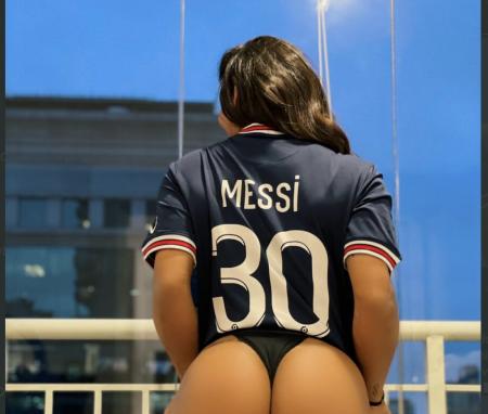 (FOTO) Suzy Cortez y su nuevo amor por Messi