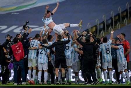 SE ROMPIÓ EL MALEFICIO: Argentina levantó la Copa tras 28 años