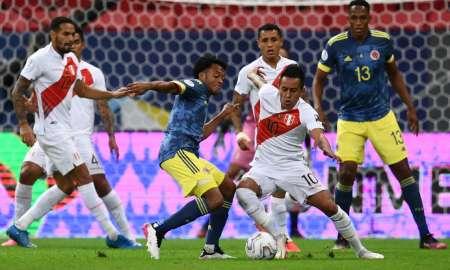 (VIDEO) Agónica victoria de Colombia ante Perú que les da el tercer lugar en la Copa América