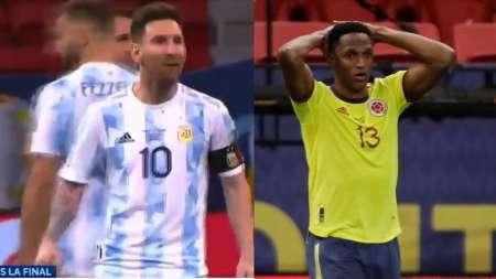 Yerry Mina rompió el silencio sobre la tanda de penales y los gestos de Messi