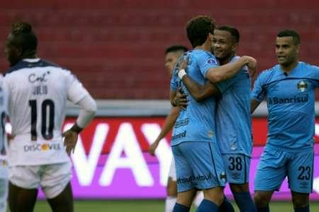 (VIDEO) Error de Gabbarini en el gol de Gremio ante Liga de Quito