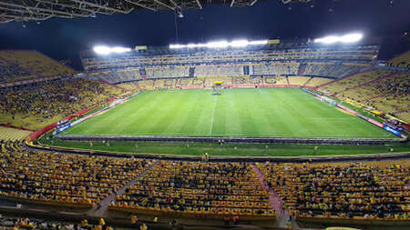 La cantidad de entradas que se han vendido para Ecuador vs Bolivia