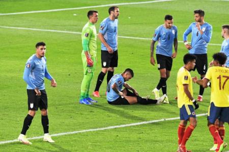 Uruguay tiene dos bajas y una duda para el 'Clásico' contra Argentina