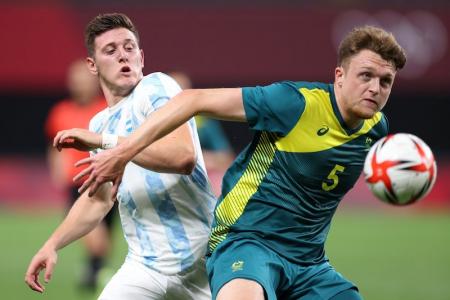 Argentina pierde ante Australia en torneo de fútbol masculino de los Juegos Olímpicos