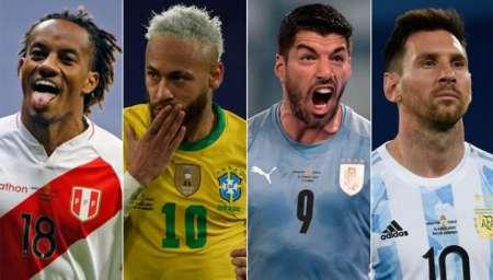 El 11 ideal de la Copa América en números
