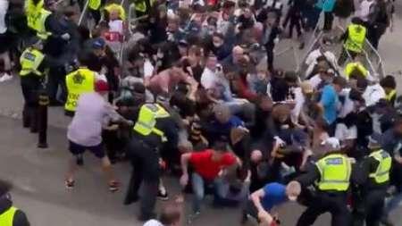 (VIDEO) Los disturbios en Wembley por la final entre Inglaterra e Italia por la Eurocopa