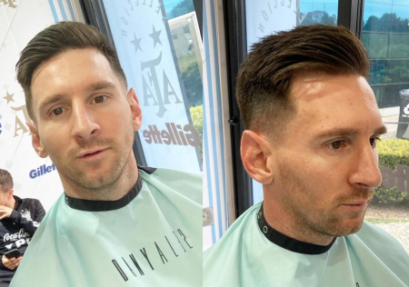 (FOTO) El nuevo corte de cabello que se hizo Messi para enfrentar a Ecuador