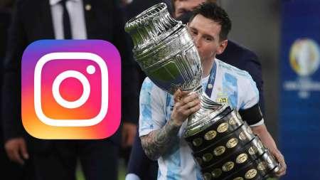 (FOTO) La foto de Messi que se convirtió en la publicación deportiva con más likes en la historia
